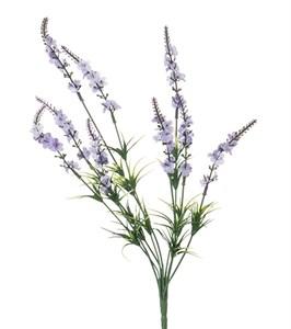 Цветок искусственный высота 42 см в ассортименте два цвета