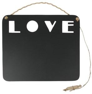 "Грифельная доска для заметок ""Любовь / LOVE"" 34х29 см"