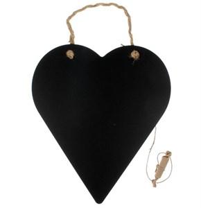 """Грифельная доска для заметок """"Сердце"""" 26х30 см"""