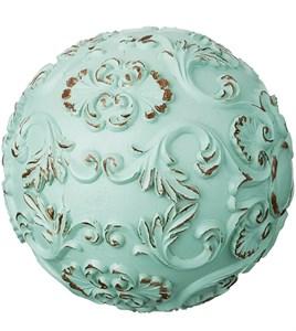 "Статуэтка ""Шар голубой узор"" диаметр 10 см"