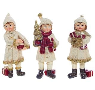 """Статуэтка """"Дети с подарками"""" в ассортименте, цена за 1 шт"""