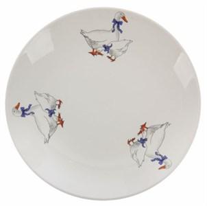 """Тарелка """"Гусиное семейство"""" диаметр 22 см в ассортименте"""