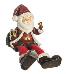 """Статуэтка """"Дед Мороз"""" сидящий"""