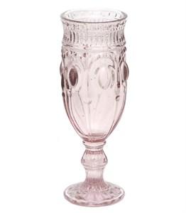 """Бокал """"Самоцвет"""" розовый для шампанского из цветного стекла"""