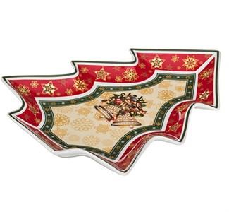 """Блюдо """"Новогодние колокольчики"""" в подарочной упаковке"""