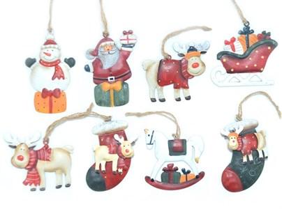 """Елочная игрушка """"Новогодние звери"""" в ассортименте, цена за 1 шт"""