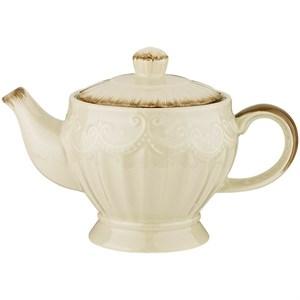 """Чайник """"Кружево"""" 900 мл серый"""