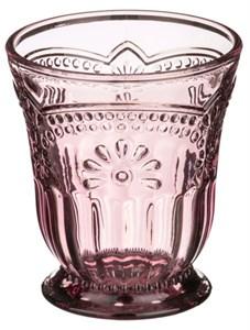 """Стакан """"Версаль"""" розовый 250 мл из цветного стекла"""