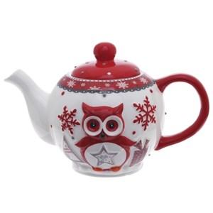 """Чайник """"Новогодние совы"""""""
