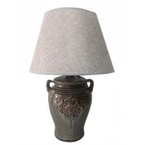 """Лампа настольная """"Медальон"""" темная высота 31 см"""