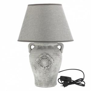 """Лампа настольная """"Медальон"""" светлая высота 45 см"""