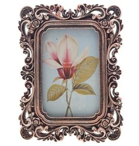 """Фоторамка """"Винтажные цветы"""" для фотографии 10х15 см"""