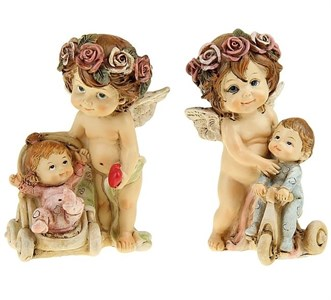 """Статуэтка """"Ангел с ребенком"""" в ассортименте"""