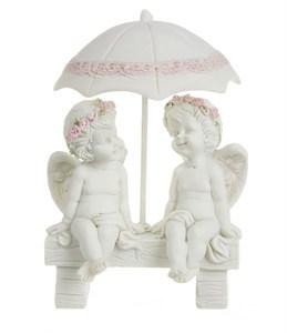 """Статуэтка """"Ангелы под зонтом"""""""