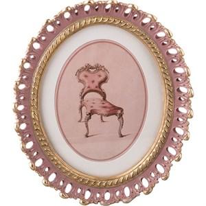 """Панно настенное """"Розовое кресло"""""""