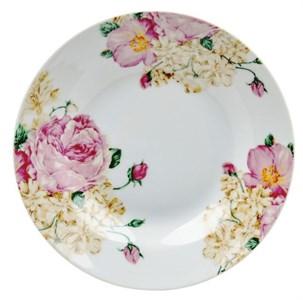 """Тарелка глубокая """"Розы"""" диаметр 20 см"""