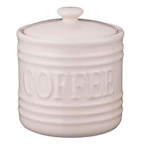 """Емкость для хранения """"Кофе"""" 900 мл бежевая"""