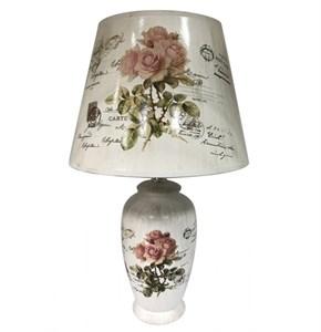 "Лампа настольная ""Дикая роза"" высота 42 см"