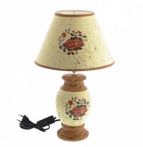 "Лампа настольная ""Винтажные розы"" высота 36 см"