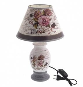 """Лампа настольная """"Цветы"""" высота 36 см"""