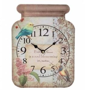 """Часы настенные """"Птицы и цветы"""""""