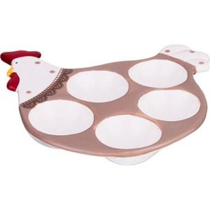 """Подставка для яиц """"Пасхальный петушок"""""""
