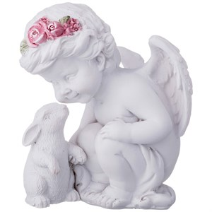 """Статуэтка """"Ангел с кроликом"""""""