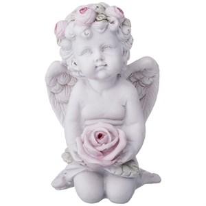 """Статуэтка """"Ангел с розой"""""""