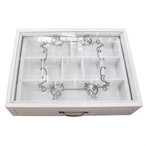 Шкатулка для украшений с выдвижным ящиком 30х22 см
