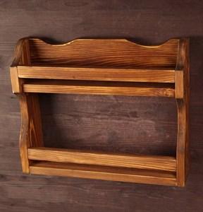 Полка деревянная для специй 35х44 см