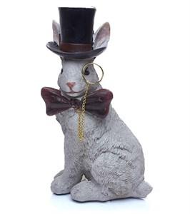 """Статуэтка """"Кролик в цилиндре"""""""