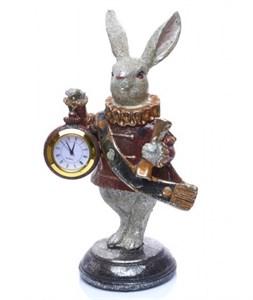 """Часы настольные """"Кролик"""" высота 21 см"""