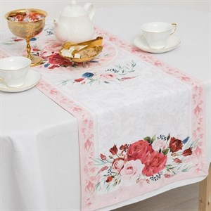 "Дорожка на стол ""Розы"" 40x145 см"