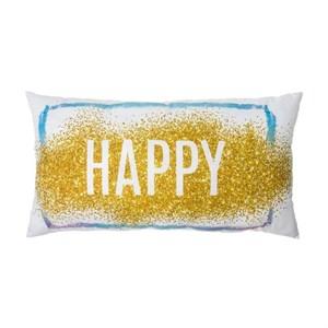 """Подушка """"Счастье"""" 40х70 см хлопок"""