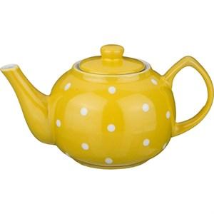 """Чайник заварочный """"Горох"""" желтый 860 мл"""