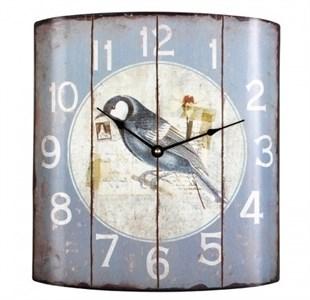 """Часы настенные металлические """"Птица"""""""