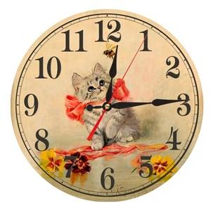 """Часы настенные """"Котенок"""""""