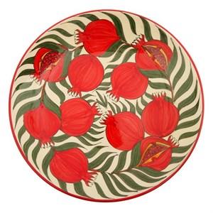 """Блюдо керамическое """"Гранаты"""" диаметр 41 см"""