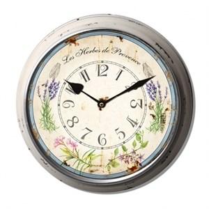 """Часы настенные """"Травы Прованса"""""""