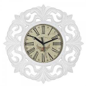 """Часы настенные """"Винтаж"""" белые"""