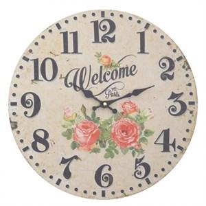 """Часы настенные """"Добро пожаловать в Париж"""""""
