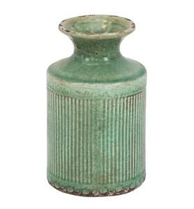 Ваза керамическая бирюзовая