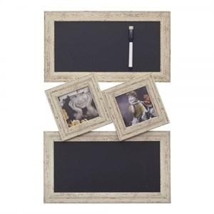 Доска для заметок с рамками для фотографий