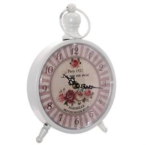 """Часы настольные """"Розы Парижа"""" 16,5х24 см"""