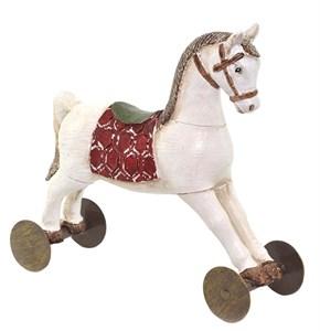 "Статуэтка ""Лошадка на колесах"""