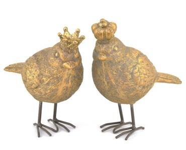 """Статуэтка """"Птица с короной"""" в ассортименте, цена за 1 шт"""