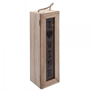 Шкатулка для бутылки деревянная