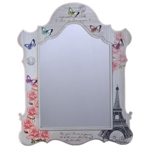 "Зеркало настенное ""Розы Парижа"" 46х60 см"