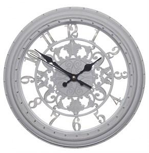 Часы настенные белые диаметр 28 см