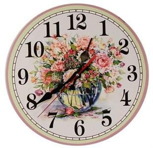 """Часы настенные """"Букет роз"""""""